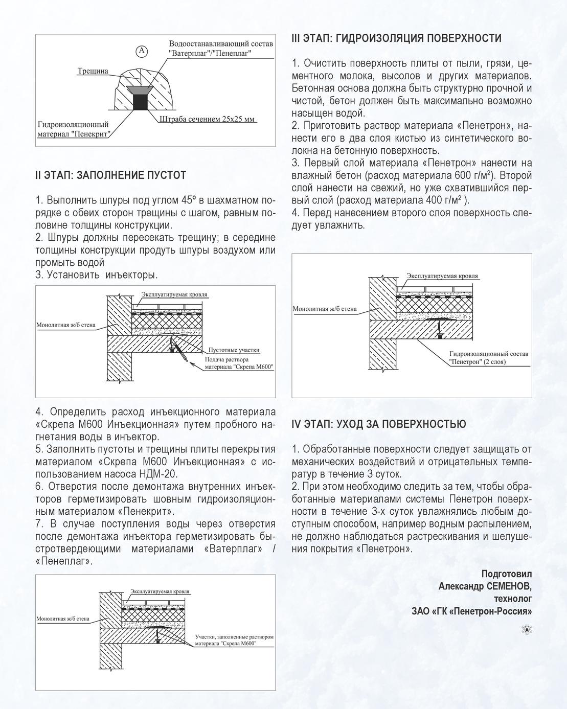 Инъекционные составы / пенесплитсил / пенепурфом / ускоритель пенепурадмикс