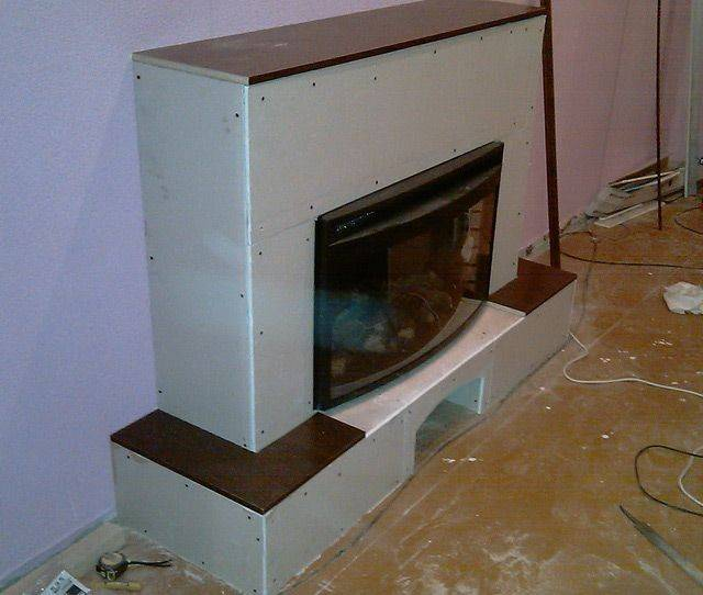 Мастер-класс по установке электрокамина в квартире