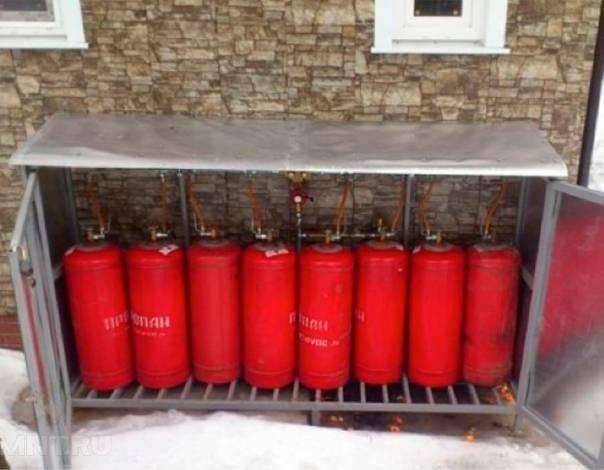 Отопление от газового баллона: котёл на сжиженном баллонном газе, расход в гараже и для частного дома, на сколько его хватает