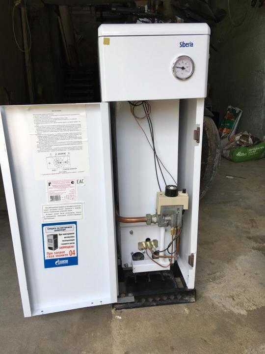 Какой напольный газовый котел выбрать для отопления частного дома