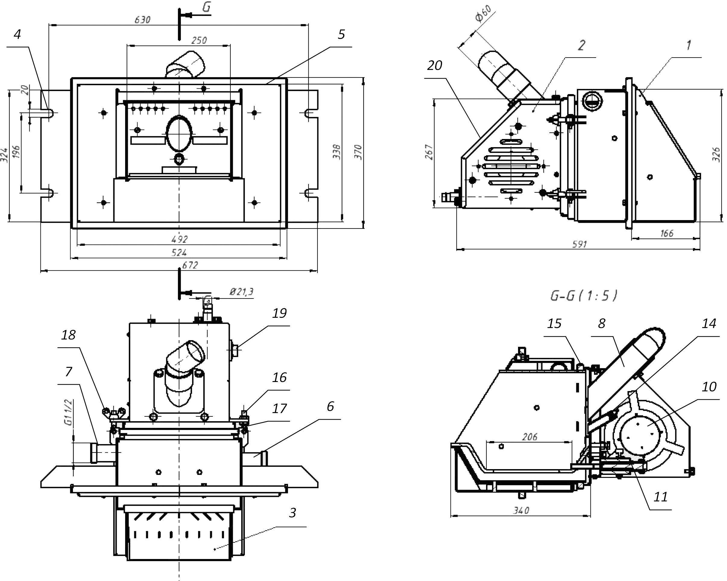 Как сделать пеллетную горелку своими руками: описание и чертежи