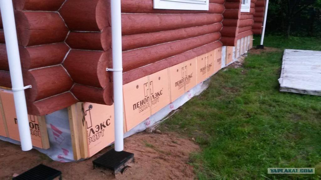 ?утепление свайного фундамента в домах из дерева: выбор теплоизолятора, способы утепления, этапы работ - блог о строительстве