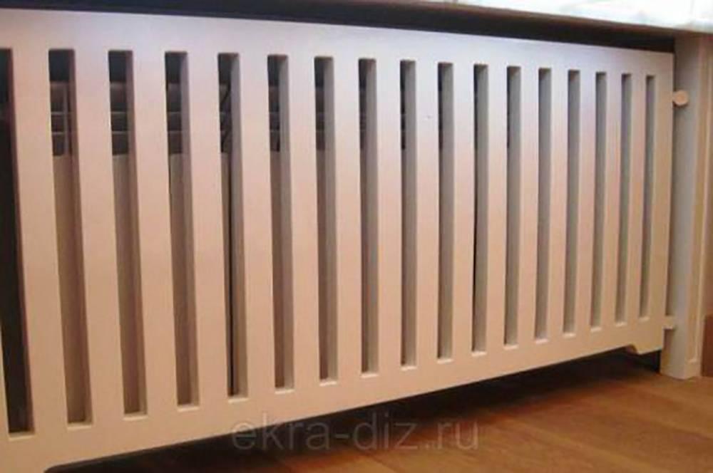 Экран для батареи отопления - оптимальный вариант