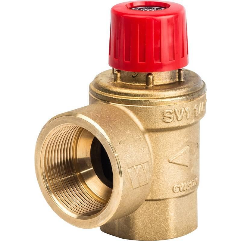 Клапан перепускной системы отопления, регулировочный терморегулятор на батареи или радиаторе