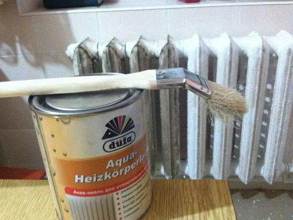 Краска для труб отопления без запаха — советы по окрашиванию