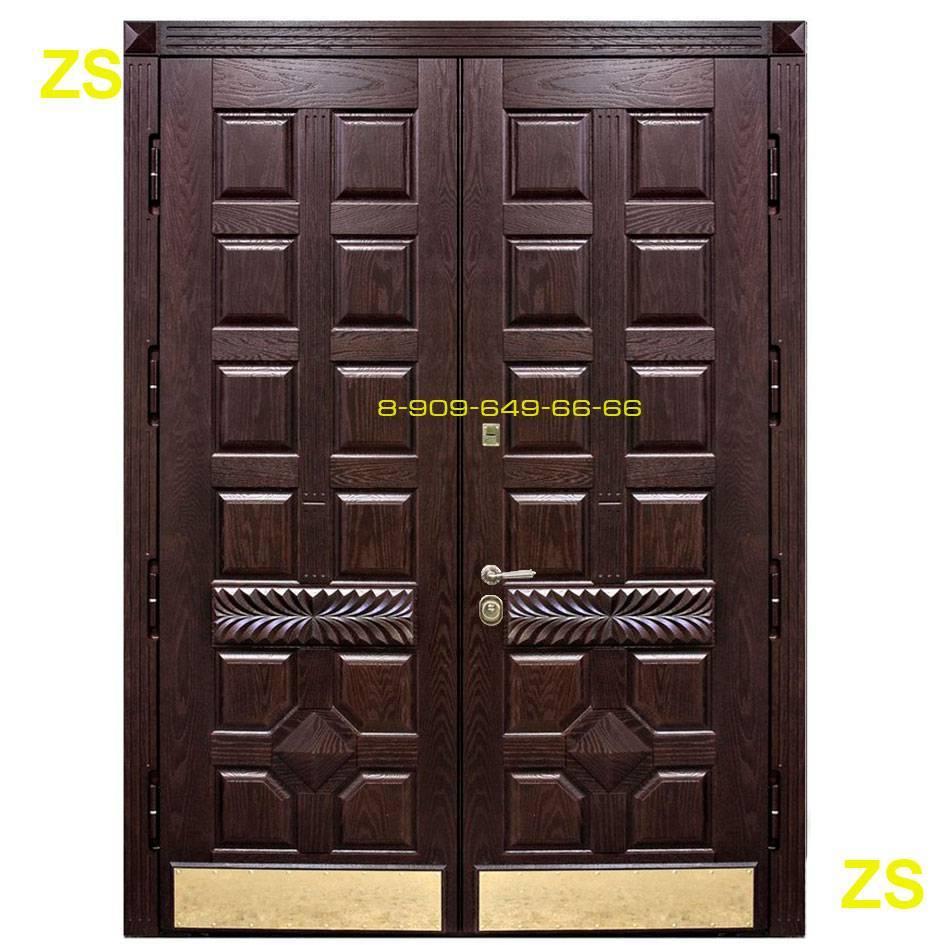 Стандартные размеры входных металлических дверей с коробкой: рассматриваем детально