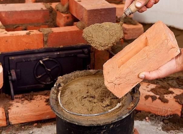 Как приготовить раствор для кладки печи: методы самостоятельного изготовления кладочной смеси