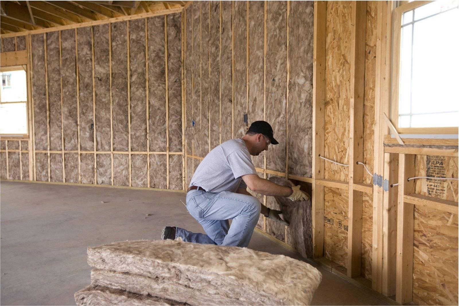 Утепление стены изнутри своими руками используя различные материалы