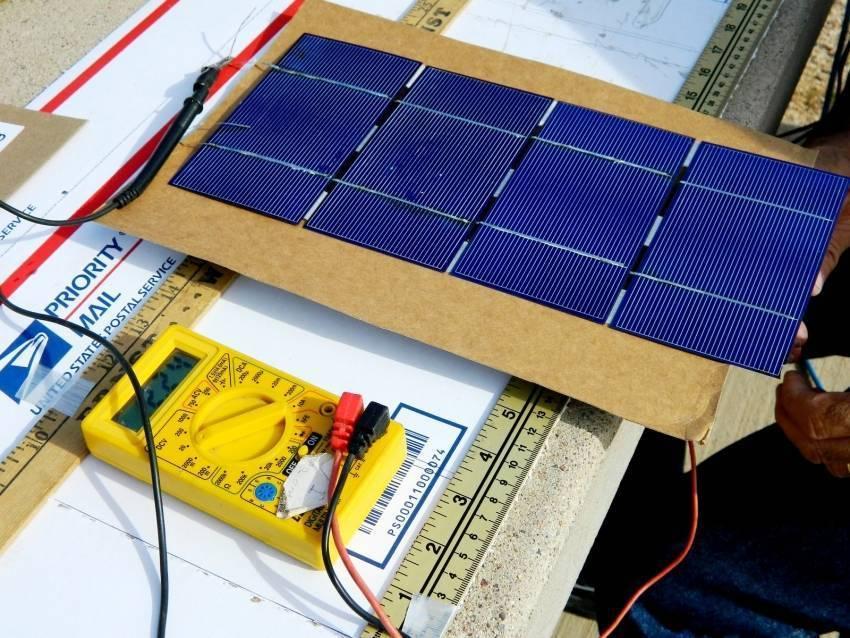 Как сделать солнечную батарею из транзисторов или диодов - Блог о потолках