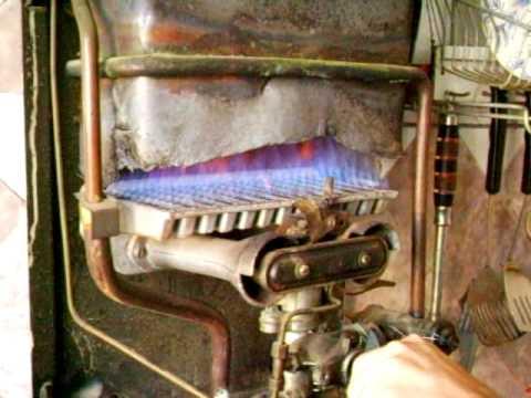 Поломки и ремонт газовых колонок