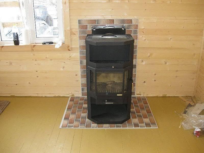 Как установить печь камин в деревянном доме – установка кирпичной и металлической печки в доме из дерева