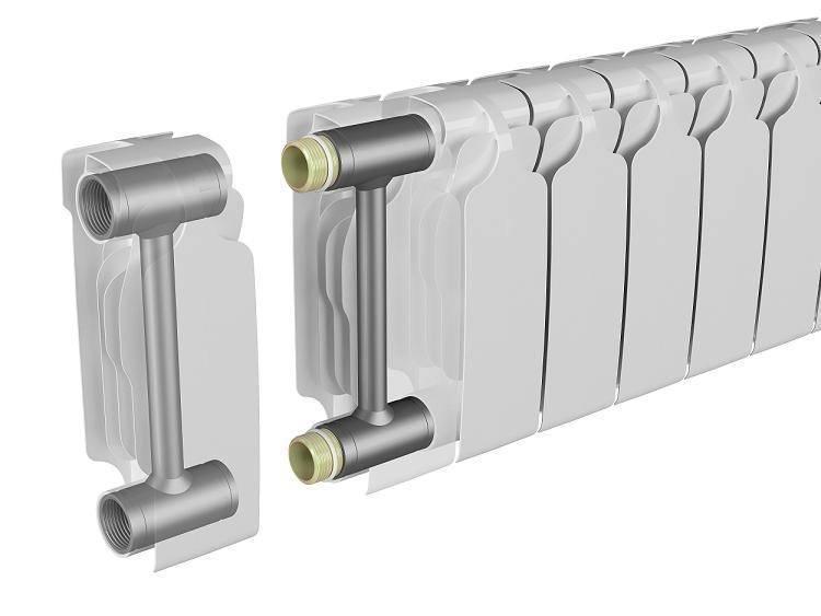Радиаторы биметаллические или алюминиевые: советы в выборе и монтаже