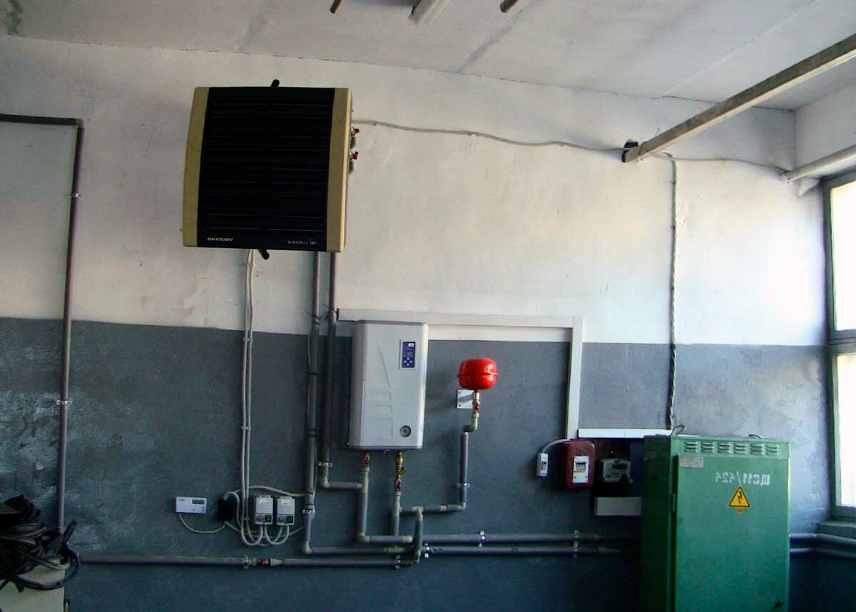 Воздушные котлы отопления - система отопления