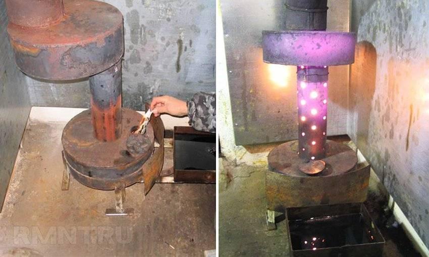 Печь на отработке из газового баллона – как сделать – свой дом мечты