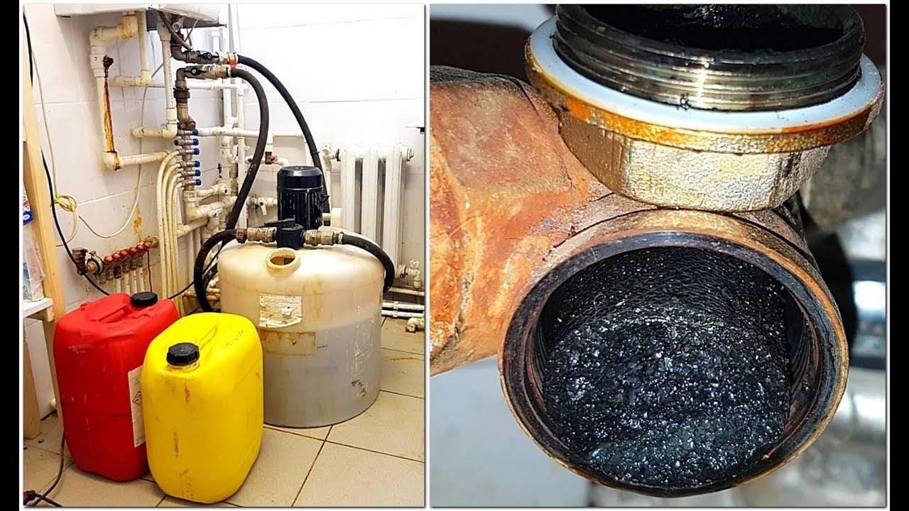 Правильная чистка системы отопления частного дома