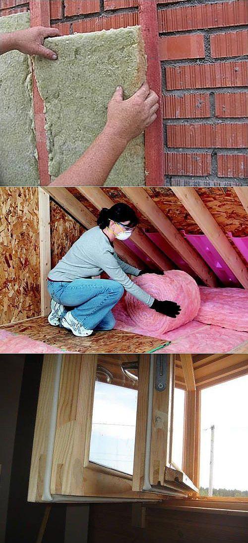 Как произвести внутреннее утепление дачного домика