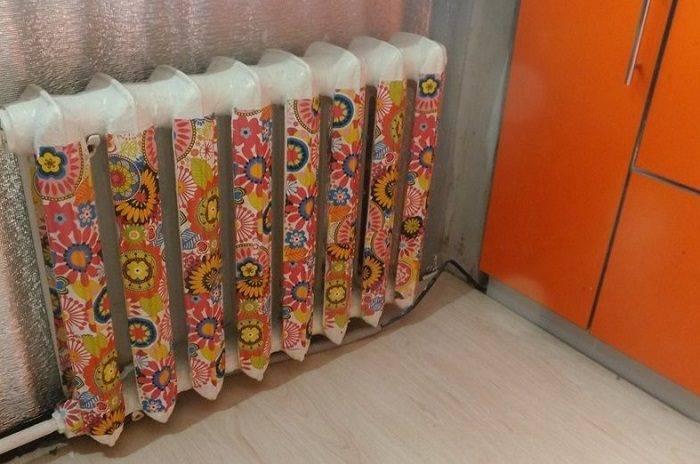 Декупаж батареи отопления - как сделать своими руками сальфеткам в том числе, как украсить радиаторы, пошаговый мастер-класс с фото и видео
