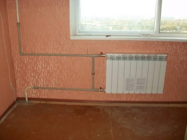 Замена стояков отопления в квартире и увелечение теплоотдачи