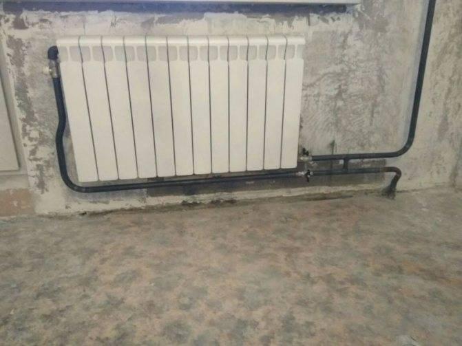 Замена батарей отопления в квартире за чей счет