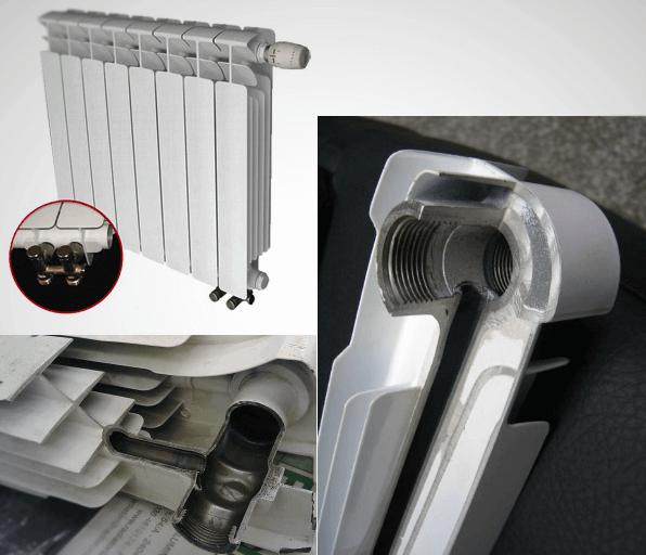 Как правильно подключить биметаллический радиатор - лучшее отопление