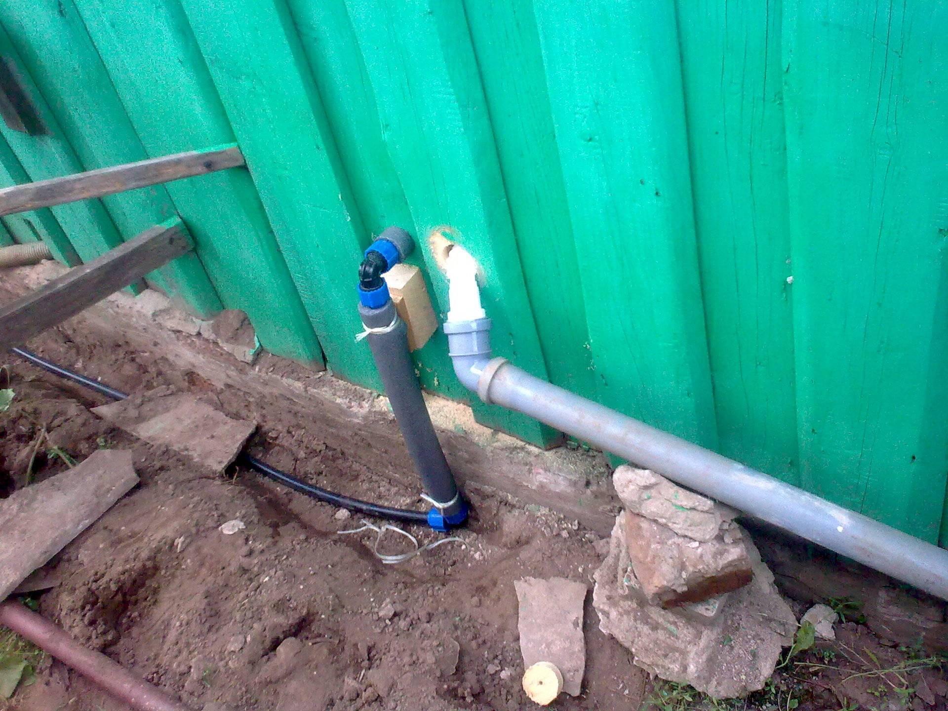 Монтаж летнего водопровода на даче из полипропиленовых труб