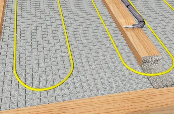Электрические теплые полы на деревянный пол   сайт с советами по ремонту и отделке