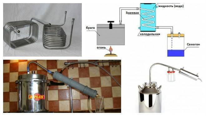 Диаметр трубки змеевика самогонного аппарата