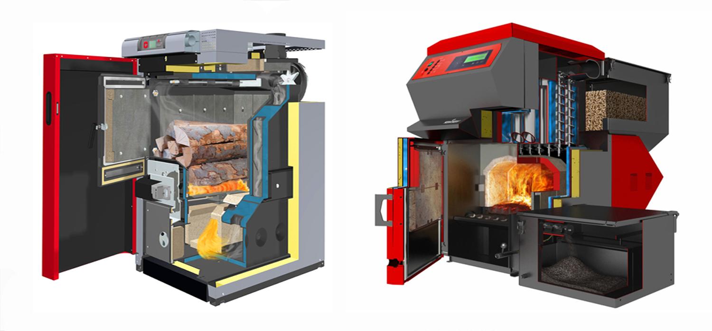 Комбинированный котёл газ-дрова для отопления: двухконтурный и одноконтурный типы, установка и обслуживание