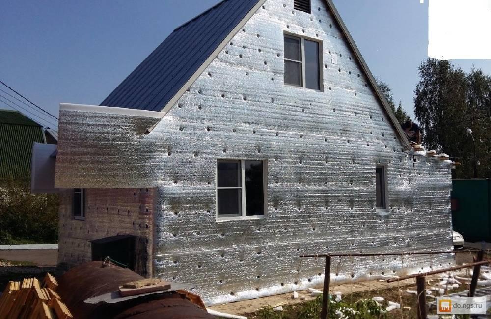 Как и чем утеплить деревянный дом снаружи?: инструкция + советы, какой утеплитель выбрать