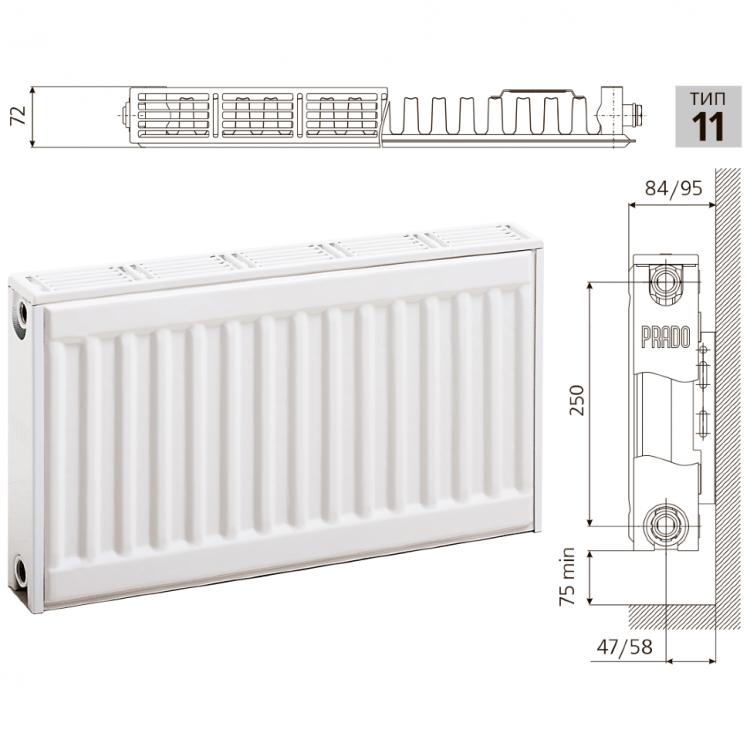 Стальные радиаторы отопления прадо и их особенности - ремонт