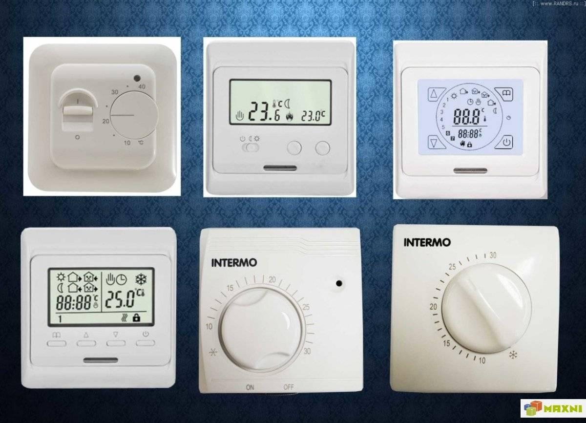 Как установить терморегулятор для теплого пола: схема подключения, фото, видео инструкция по монтажу своими руками