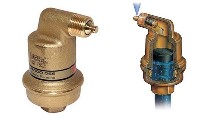 Автоматические воздухоотводчики для отопительной системы