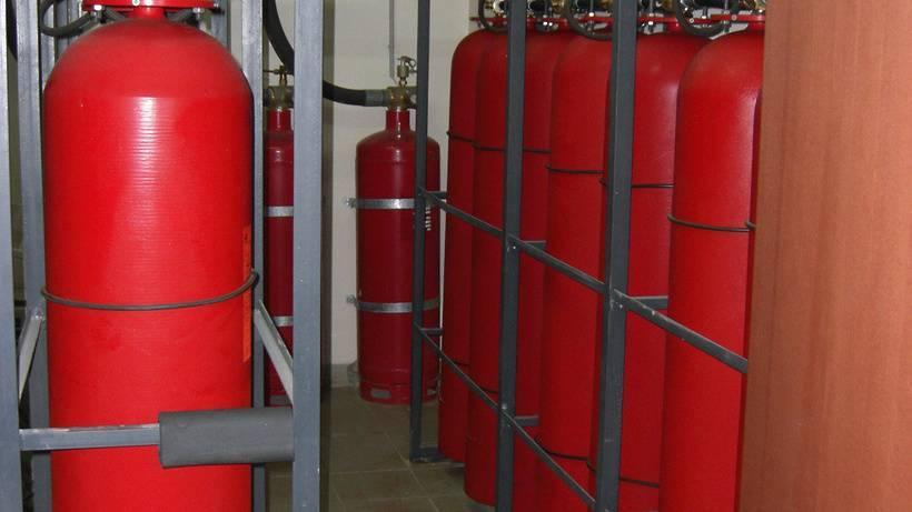 Отопление дачи газом из баллонов