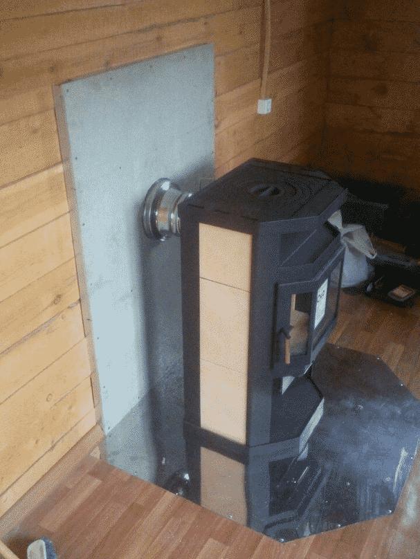 Как правильно установить печь или камин в деревянном доме своими руками?