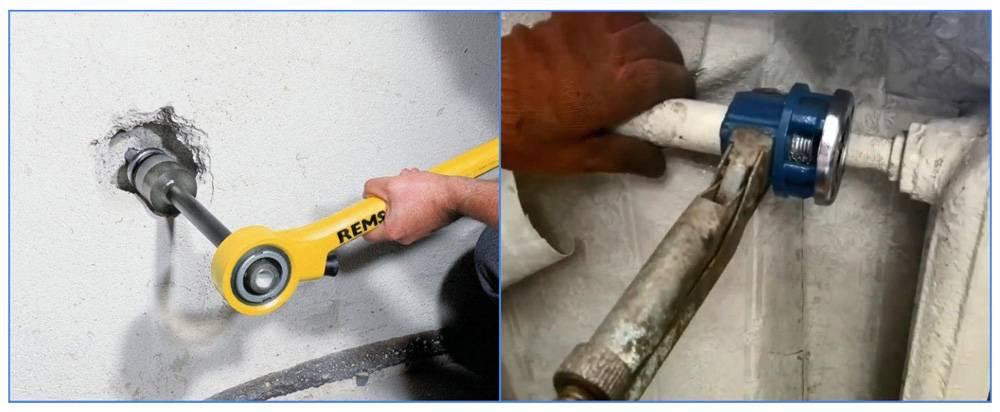 Нарезаем резьбу на трубах: инструмент и схема работы