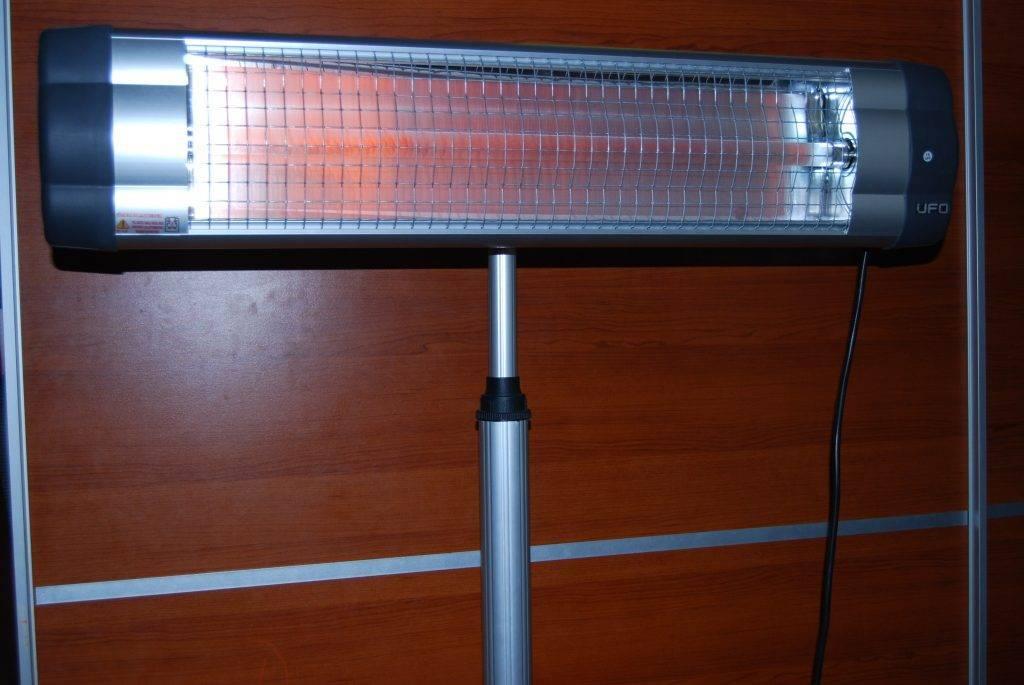 Инфракрасная лампа для обогрева помещения