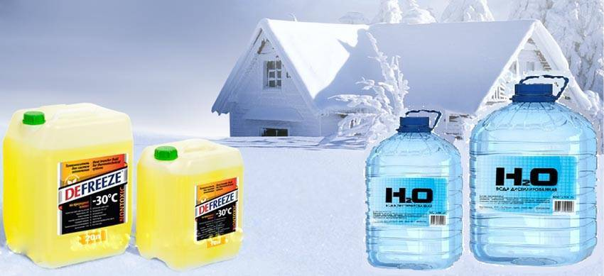Обзор лучших незамерзающих жидкостей - незамерзайка - для системы отопления частного дома
