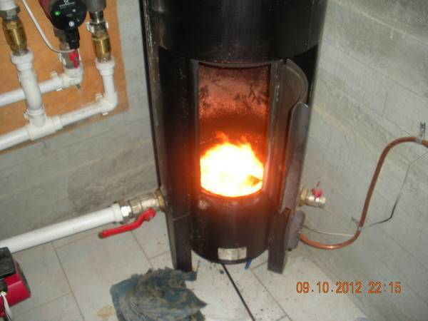 Расход топлива дизельного котла отопления
