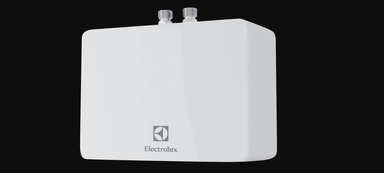 Модельный ряд проточных водонагревателей Электролюкс — отзывы