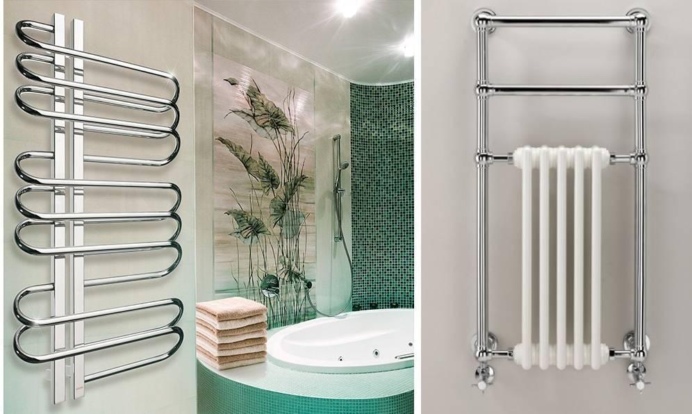 Какую батарею устанавливают в ванной комнате. какой водяной полотенцесушитель лучше: учимся выбирать правильно