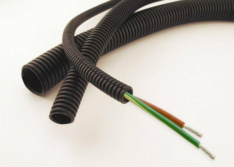 Гофра для кабеля: размеры, виды, советы по выбору
