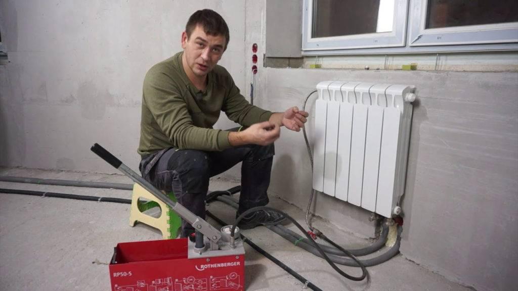 Когда и зачем необходима промывка системы отопления?