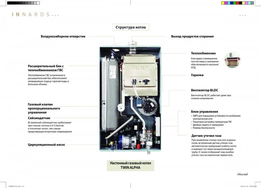 Высокая эффективность и простая конструкция - это дизельный котел kiturami