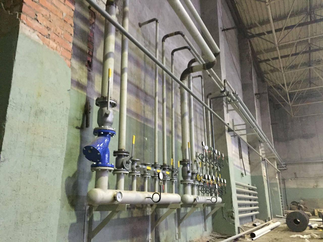 Отопление производственных помещений – варианты и