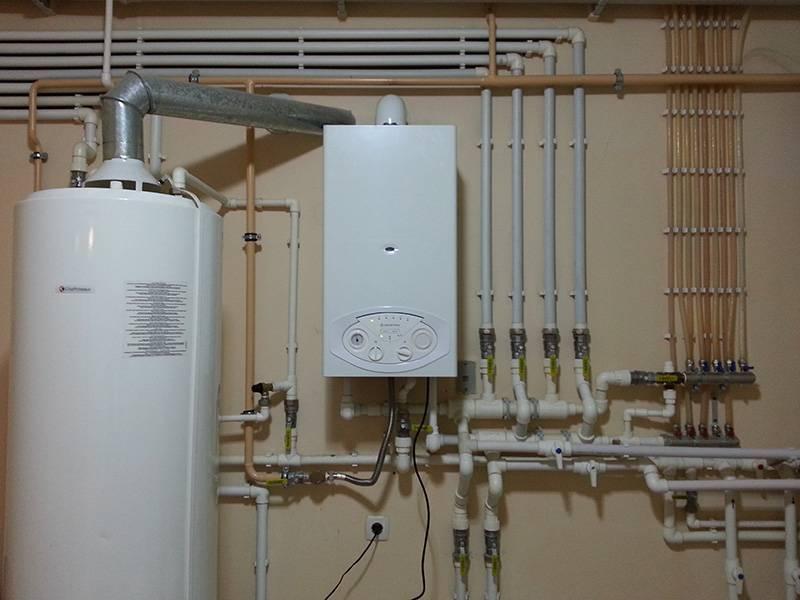 Настенные энергонезависимые газовые котлы индивидуального, автономного отопления
