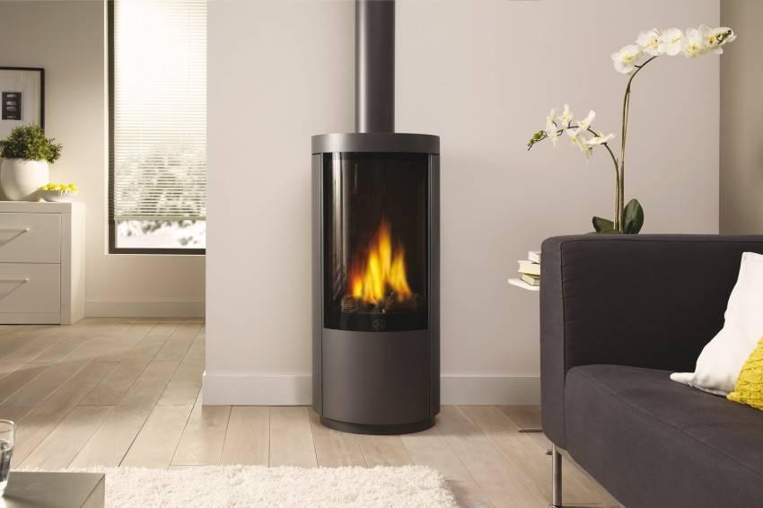 Газовый камин: организация тепла в доме
