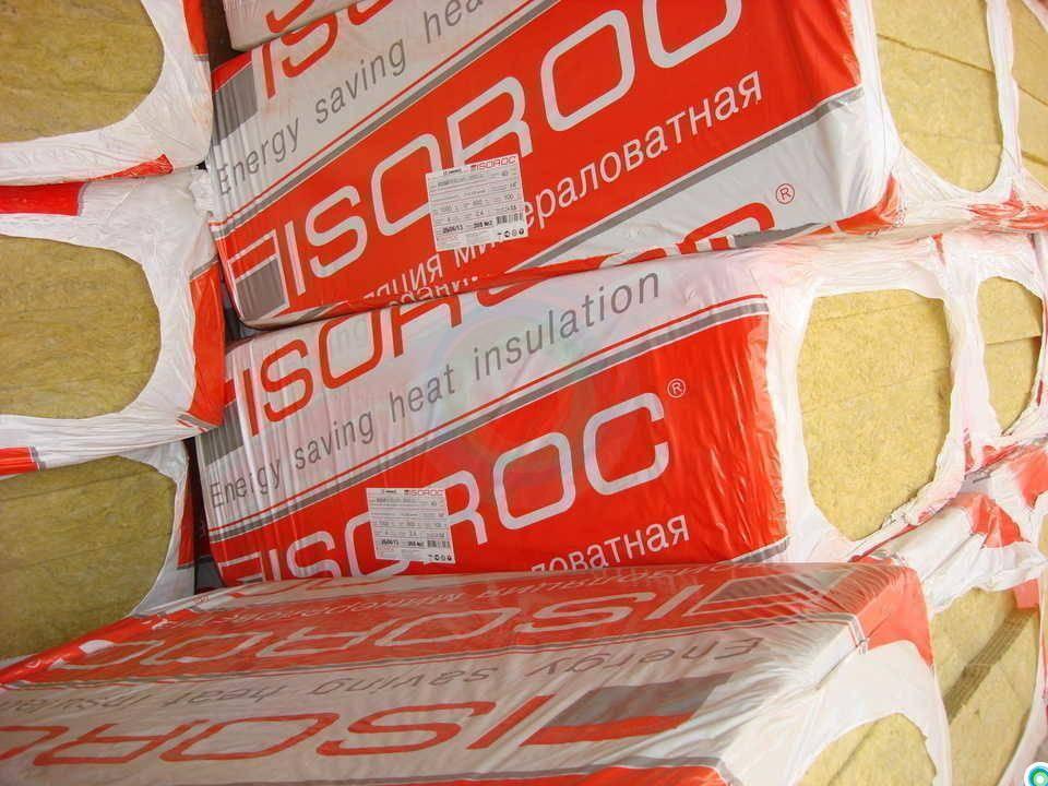 Утеплитель isoroc: технические характеристики теплоизоляции плотностью 50 кг/м3