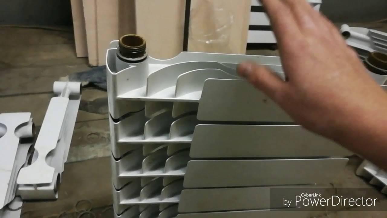 Как разобрать биметаллический радиатор отопления своими руками