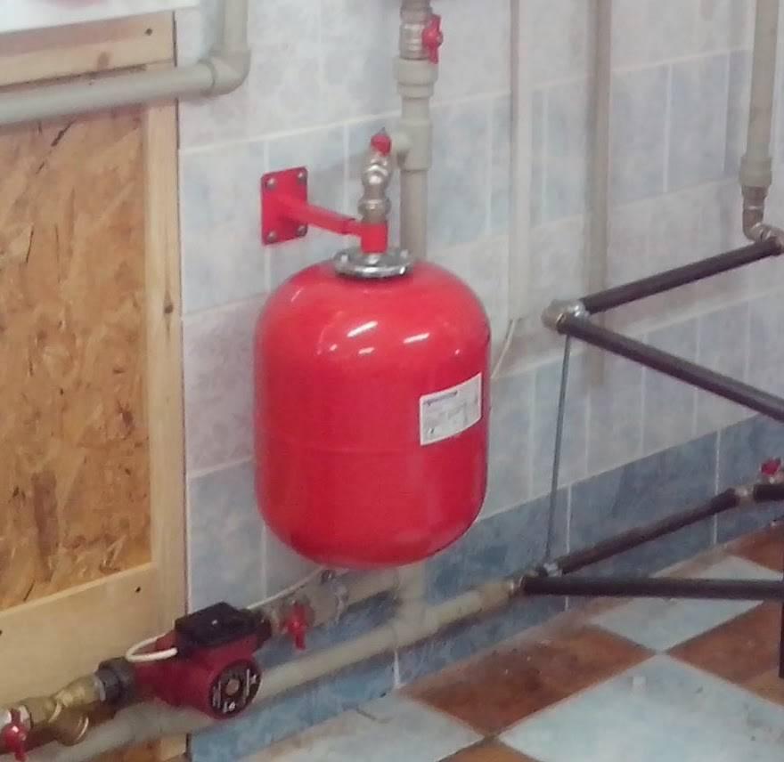 Монтаж и установка расширительного бака в системе отопления своими руками