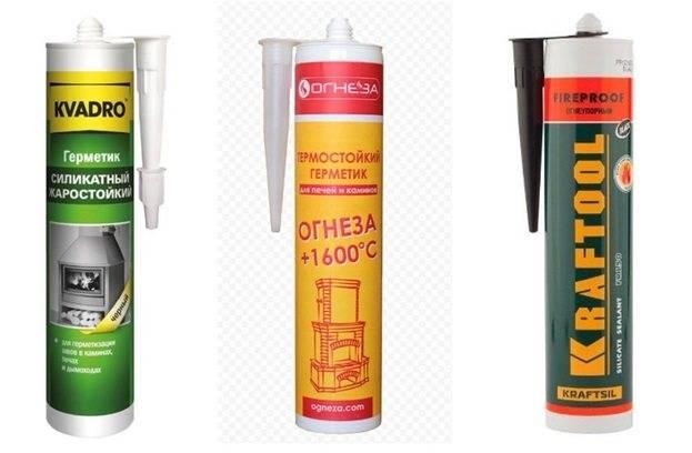 Термостойкий герметик цены и особенности примения